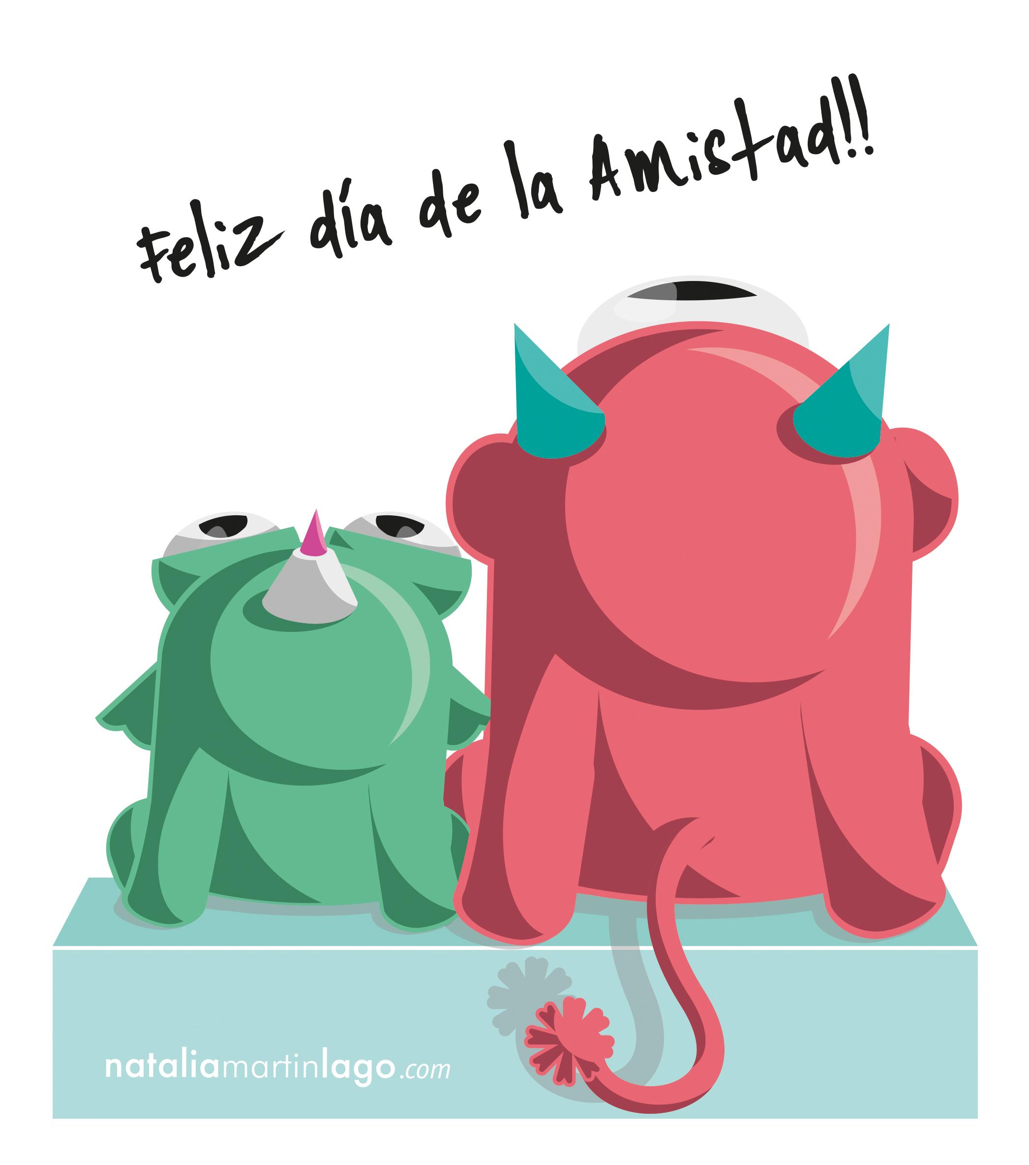 Feliz Día De La Amistad Nataliamartinlago